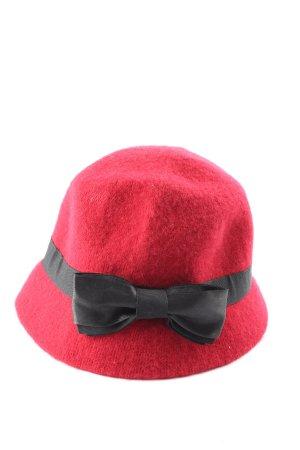 Pia Rossini Felt Hat red casual look