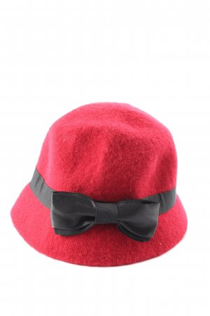 Pia Rossini Felt Hat red casual look