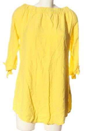 Piano C Koszula typu carmen bladożółty W stylu casual