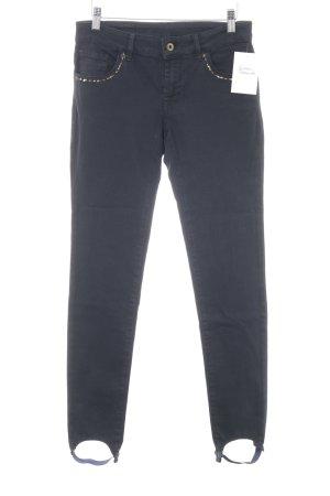 Pianura Studio Skinny Jeans dunkelblau Casual-Look