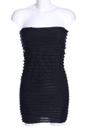 PIAZA ITALIA Robe bandeau noir style extravagant