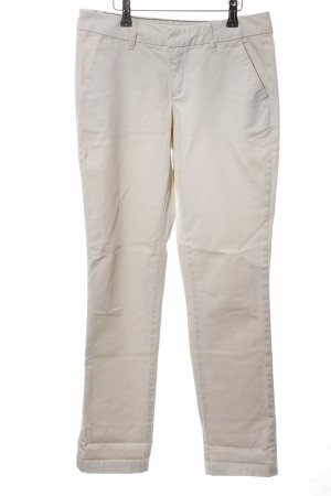 PIAZA ITALIA Pantalon chinos blanc style décontracté