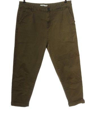 PIAZA ITALIA Spodnie khaki khaki W stylu casual
