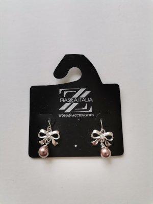 Piazza Italia Ohrhänger Ohrringe mit Schleife und Perle