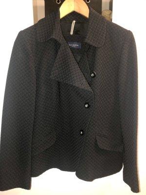 Piazza Sempione Jersey blazer zwart