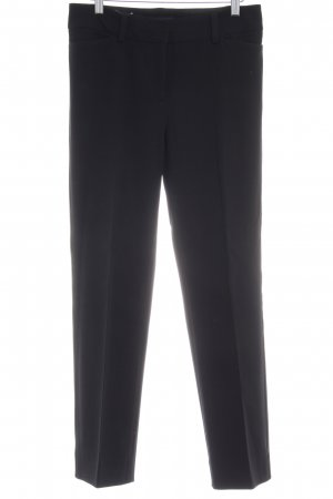 Piazza Sempione Bundfaltenhose schwarz Business-Look