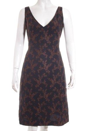 Piazza Sempione Sheath Dress black-brown street-fashion look