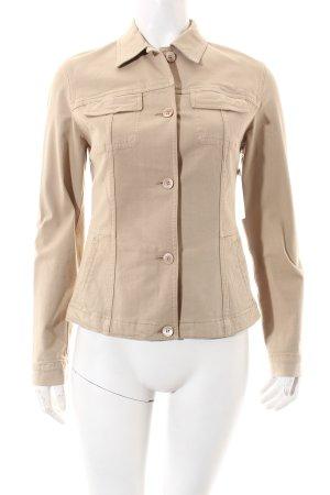 Piazza Sempione Denim Jacket beige casual look