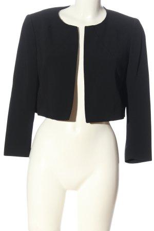 Piazza Sempione Korte blazer zwart zakelijke stijl