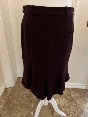 Piazza Sempione Midi Skirt brown violet