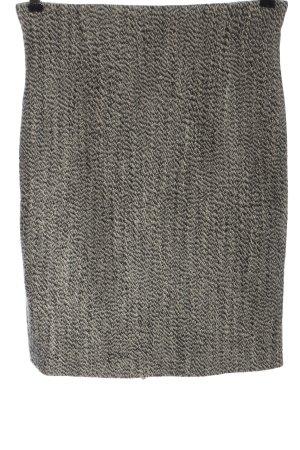 Piazza Sempione Miniskirt light grey weave pattern business style