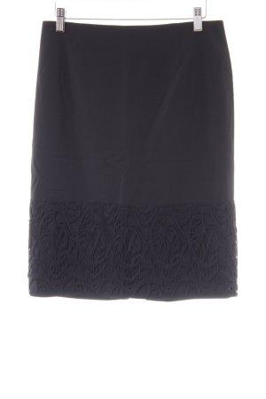 Piazza Sempione Miniskirt black casual look