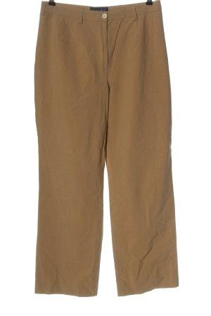 Piazza Sempione Pantalone jersey marrone stile casual