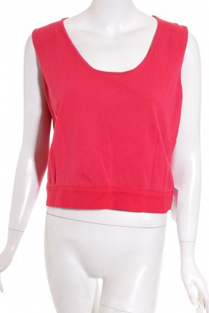 Piazza Sempione Knitted Top magenta-red classic style