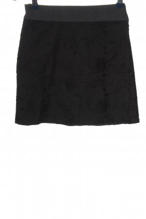 Piazza Sempione Wraparound Skirt black elegant