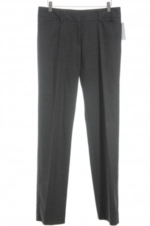 Piazza Sempione Wollhose grau meliert Business-Look
