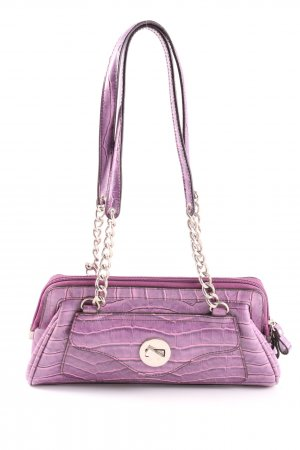 Pic² Henkeltasche lila Animalmuster Casual-Look