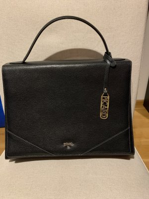 Picard Briefcase black-gold-colored