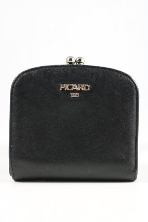 Picard Geldbörse schwarz Casual-Look