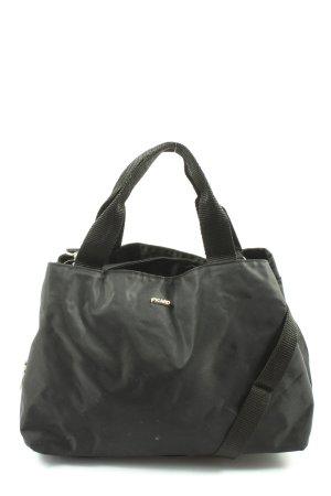 Picard Handtasche schwarz Motivdruck Casual-Look