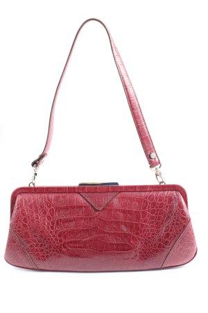 Picard Mini Bag red animal pattern elegant