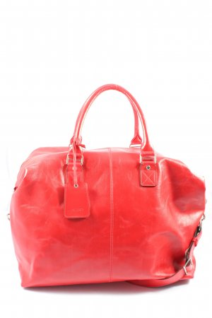 Picard Sac weekender rouge style décontracté