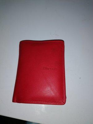 Picasso Geldbeutel Portemonnaie Leder Rot