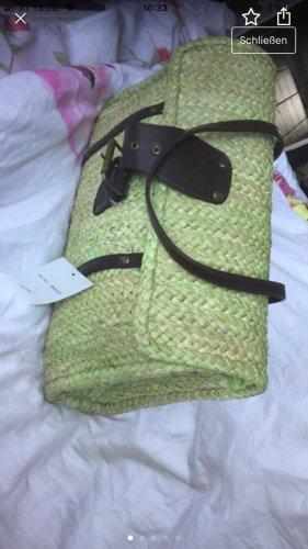 Travel Bag cream synthetic fibre