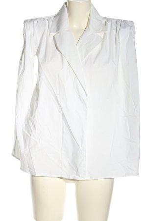 Piece of White Gilet de costume blanc style décontracté