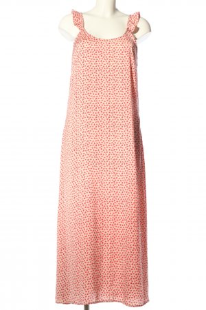 Pieces A-Linien Kleid nude-pink Allover-Druck Casual-Look