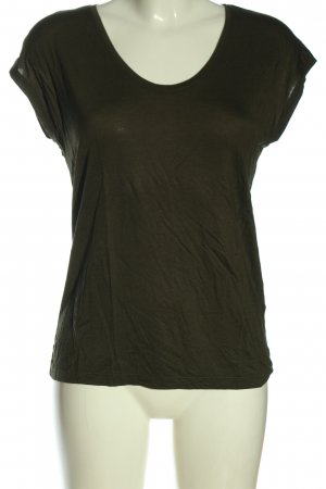 Pieces Basic-Shirt khaki Casual-Look