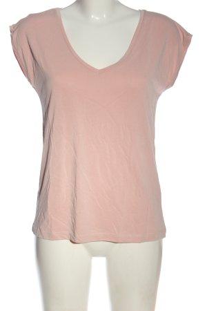 Pieces Basic-Shirt pink Casual-Look