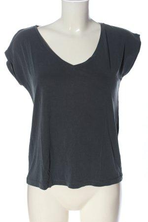Pieces Basic-Shirt hellgrau Casual-Look