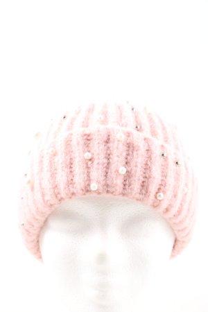 Pieces Berretto rosa stile casual