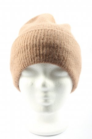 Pieces Beanie brown casual look