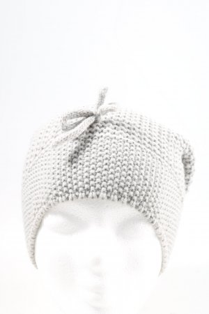 Pieces Beanie light grey casual look