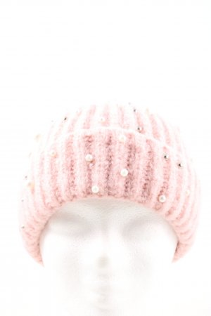 Pieces Beanie pink casual look