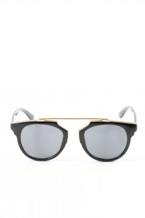 Pieces Butterfly Glasses black-gold-colored elegant