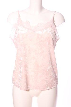 Pieces Camisole roze gestippeld elegant