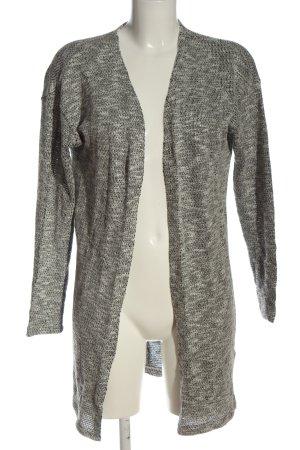 Pieces Cardigan grigio chiaro-bianco puntinato stile casual