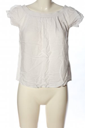 Pieces Carmen Shirt white casual look