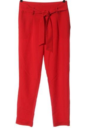 Pieces Pantalon chinos rouge style décontracté