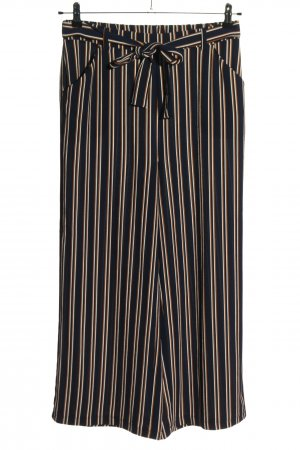 Pieces Culottes gestreept patroon casual uitstraling