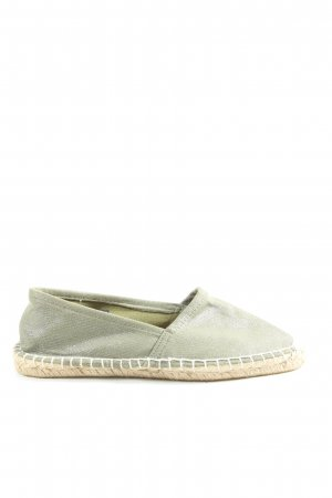 Pieces Espadrille Sandals khaki-natural white flecked casual look