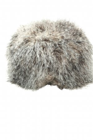 Pieces Fur Hat multicolored casual look