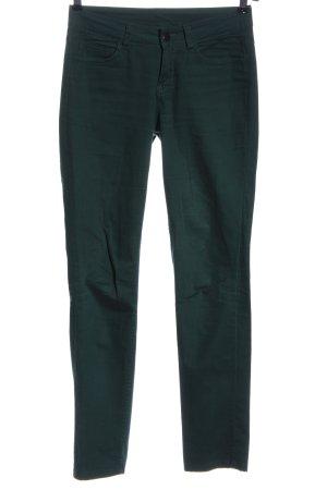 Pieces Five-Pocket-Hose grün Casual-Look
