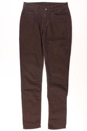 Pieces Five-Pocket-Hose Größe M braun aus Baumwolle