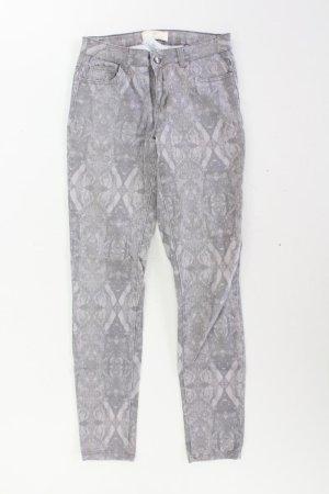 Pieces Five-Pocket-Hose Größe M/L grau aus Baumwolle