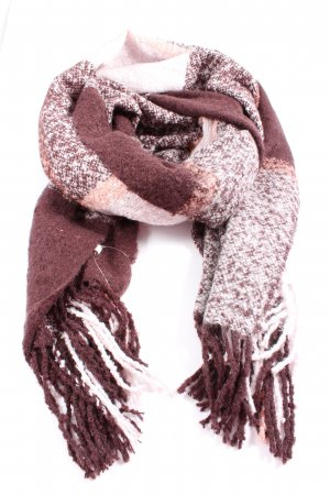 Pieces Fringed Scarf flecked casual look