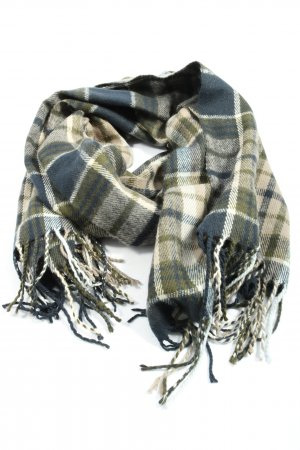 Pieces Fringed Scarf allover print casual look